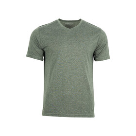 United By Blue T-shirt à col en V Homme, moss green